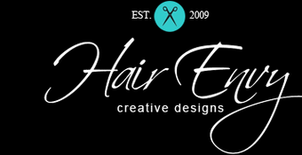 Hair Envy Creative Designs Logo